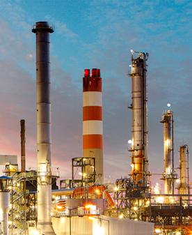 Industrie chimique illustration