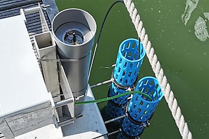 Installation de capteurs de niveau Keller dans un complexe d'écluses